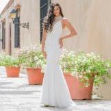 Rochie de vară albă roșie