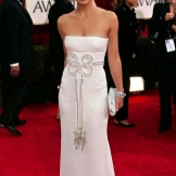 evening white dress Kate Hudson
