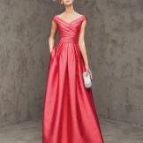 Vestido de noite da Pronovias vermelho