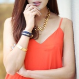 Orange Dress Jewellery