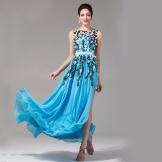 Ilta-mekko Kiinasta silkistä