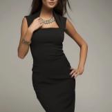 Rochie cu fusta creion pentru femei cu figura clepsidra