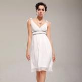 Empire stil kjole til en rektangel-type figur