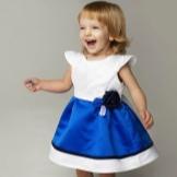 Vestido de verão para uma menina de 2 anos fofo