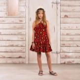 Vestido de verão vestido de verão para um adolescente