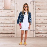 Summer polo dress for teens
