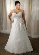 Vestit de casament complet amb una cotilla