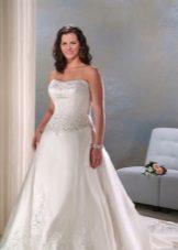 Vestit de núvia amb cotilla per complet