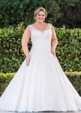 Vestit de núvia per a línia completa