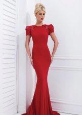 Tony Bowls Red Evening Dress