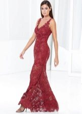 Aften kjole fra Terani Couture kirsebær