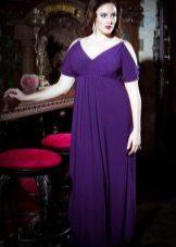 Purple Empire-avondjurk voor vol
