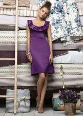 Dark Purple Evening Dress