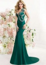 Original evening dress green