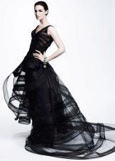 Black evening dress ni Zack Posen