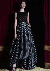 Gestreepte jurk van Zuhair Murad Evening
