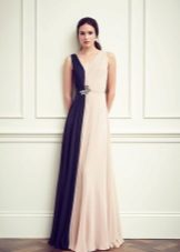 Jenny Packham Blue Stripe Gown