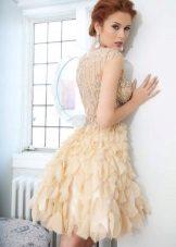 Lindo vestido de noite curto