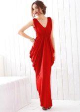 Vestido de noite barato vermelho