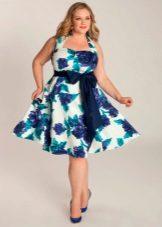 vestit de nit amb estampat floral per al ple per al casament