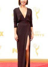Aubrey Plaza - Emmy Dress 2015