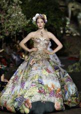 imprimir vestido de noite 2016 por Dolce & Gabbana