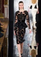 Vestido de noite barroco por Valentina Yudashkina