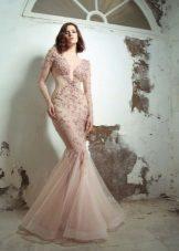 Sereia vestido rosa 2016