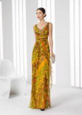 Vestido de noite cor