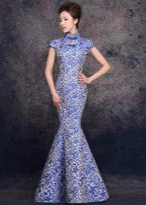 Mermaid Brocade ruha
