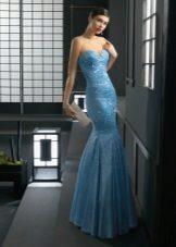 Sereia de vestido de noite de Rose Clara