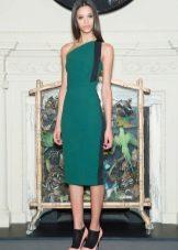 Vestido de noite verde