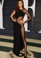 Avond openhartige jurk Irina Shayk
