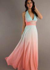 Koralli pitkä mekko