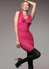 Pink fuchsia dress