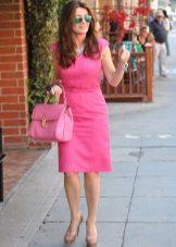 Pink bag to dress fuchsia