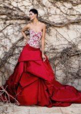 White Crimson Dress