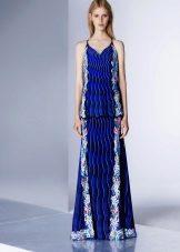 Color blue dress