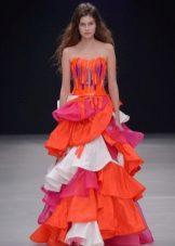 Dress smok color