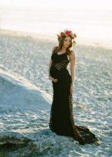 Jurk voor zwangere fotoshoot