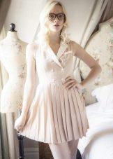 Short milk dress