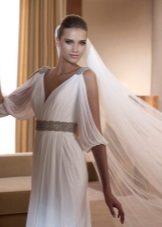 Kleed je in de Griekse stijl voor zwangere vrouwen