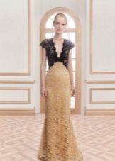 Dark Top Lace Dress