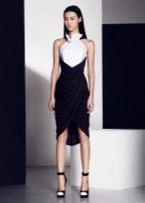 Two-color sheath dress
