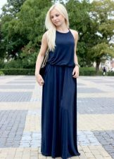 Pakaian musim panas yang biru