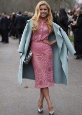 Rochie roz rochie de mireasa
