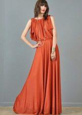 Terrakotta pitkä mekko