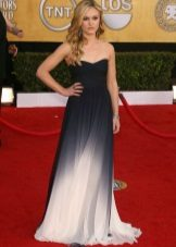 Lange bustier-jurk met lange pijpen voor zwangere vrouwen