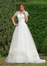A-line spets klänning