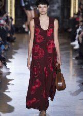 Klänning väska rödbrun